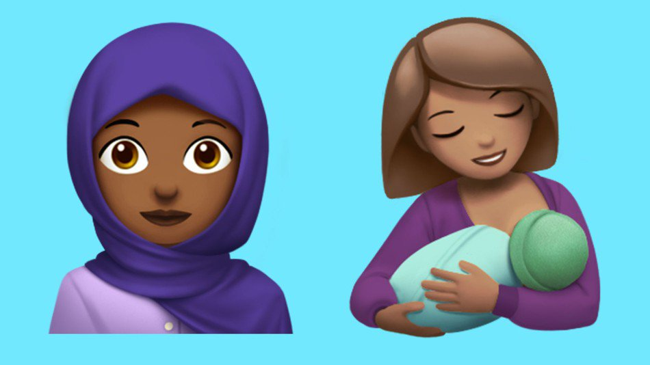 New Apple emoji include headscarf woman, breastfeeding mom, zombie, and more https://t.co/9hsyQO6AcM https://t.co/WK1ylSeXx9
