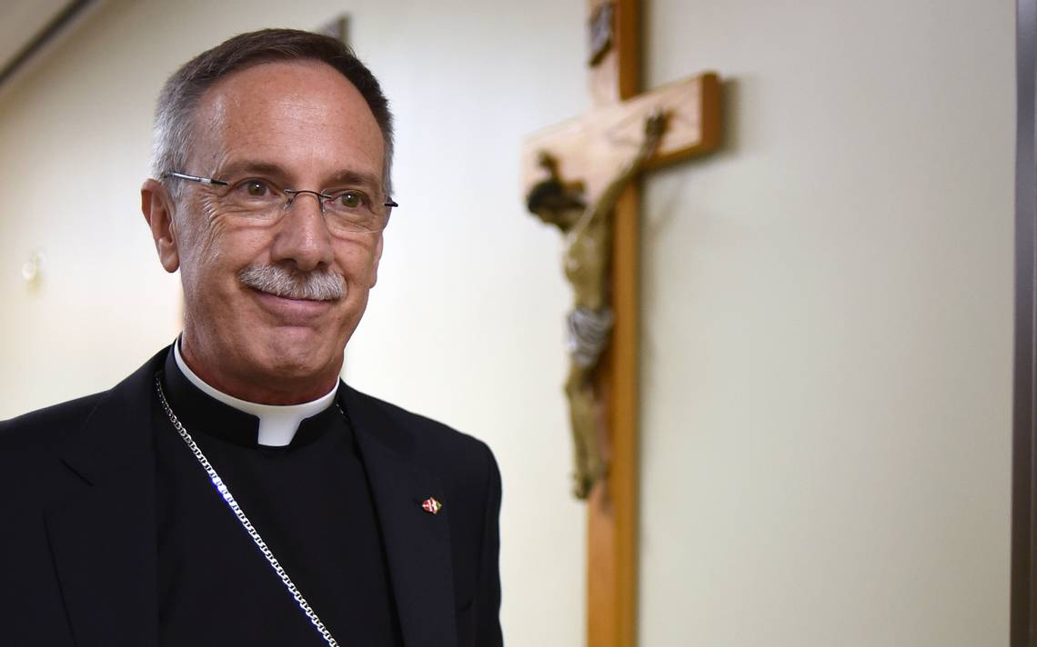 Diocese of Raleigh's new bishop: 'I'm here to serve and to love everybody'