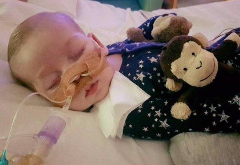 New York hospital agrees to admit terminally ill British baby Charlie Gard