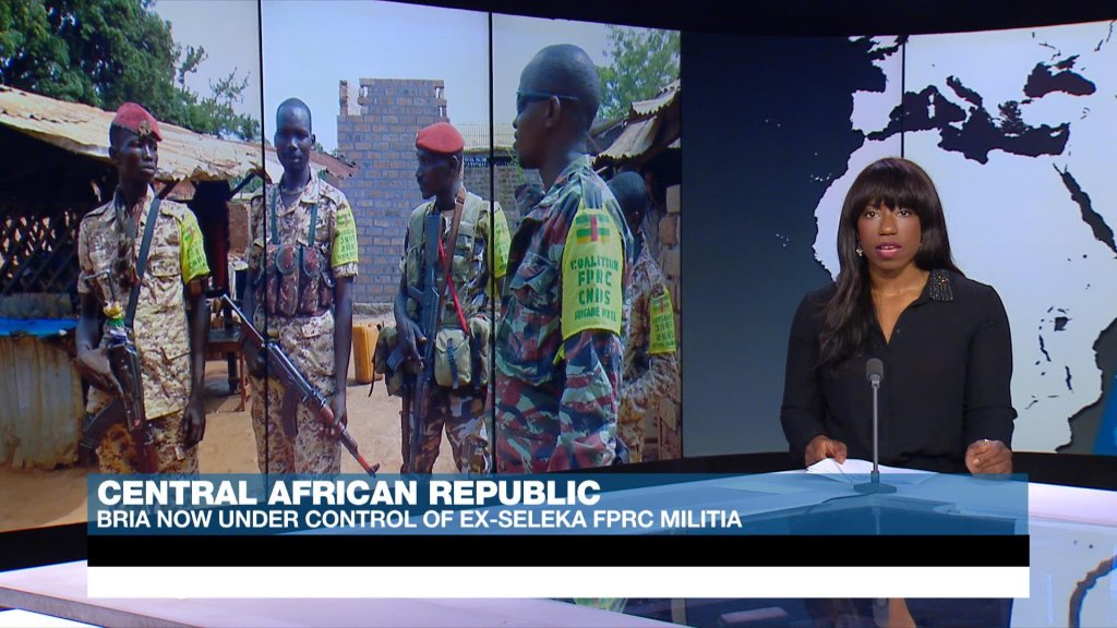 ACROSS AFRICA - Militia groups take over Central African Republic town of Bria