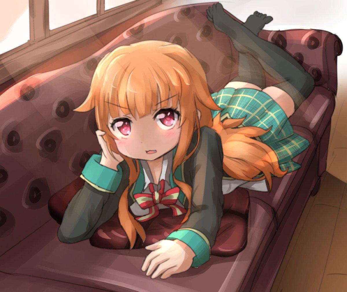 ろりもいいけど、やっぱりひとつ年上だけどちびっ子の先輩が好きかな…#gj_anime #GJ部 #先輩女子