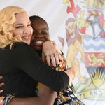 Malawi president hails Madonna's 'motherly spirit' at opening of new hospital