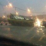 Heavy rain damages buildings in Kota Baru, brings flash floods to Kota Belud