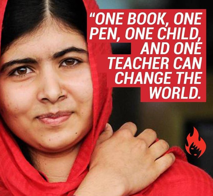 Wishing a very Happy Birthday to Girl Yousafzai!