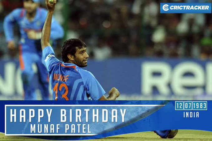 Happy Birthday munaf patel