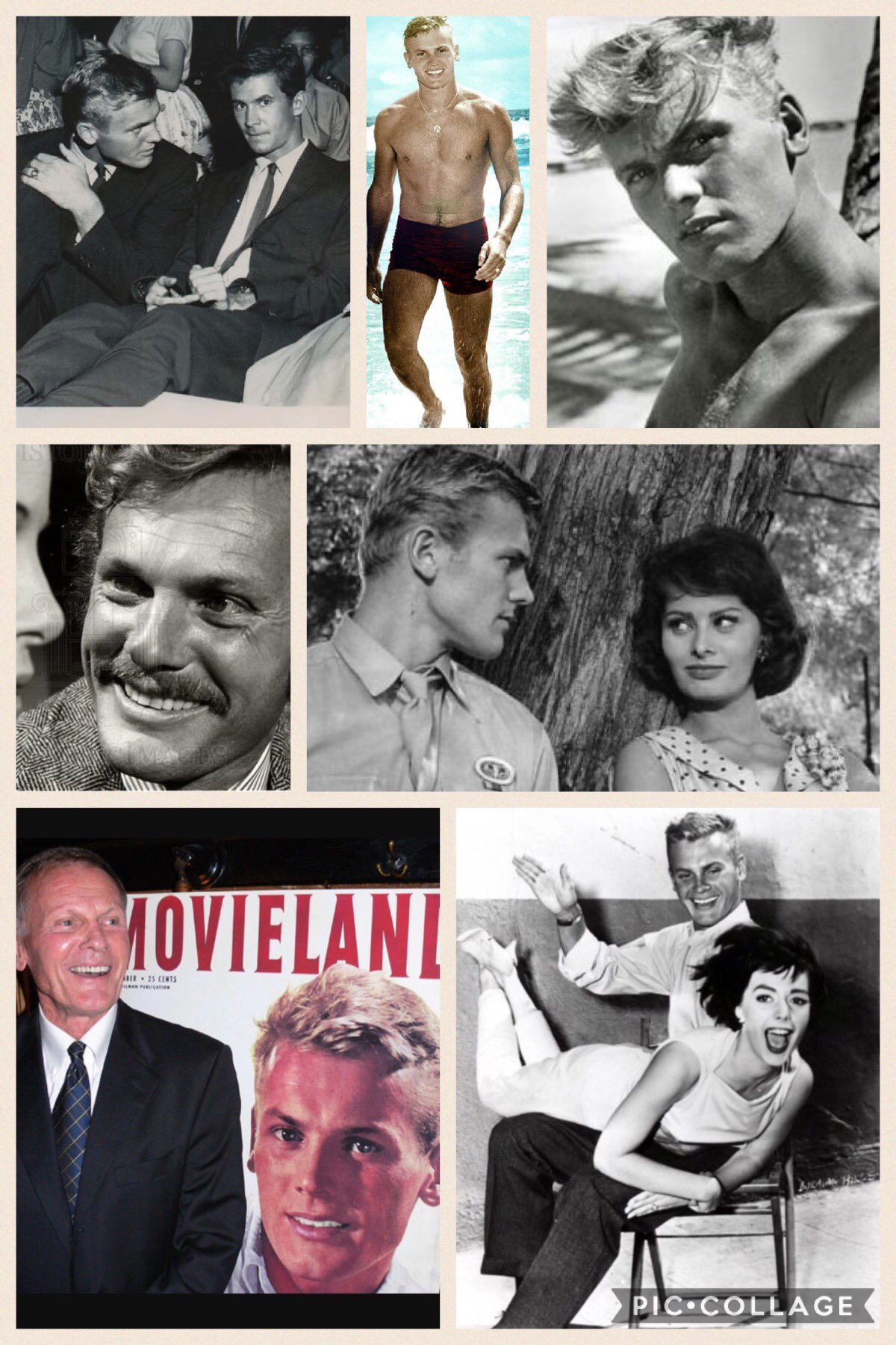 Happy 86th birthday to the actor and singer Tab Hunter!