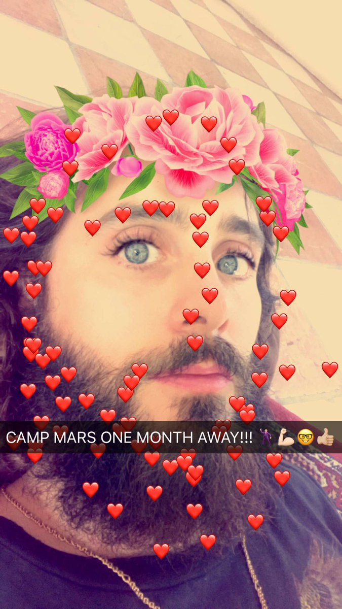 #CampMars ONE MONTH AWAY!!! https://t.co/uhdPT2dSE0 https://t.co/8qzKveSnbT