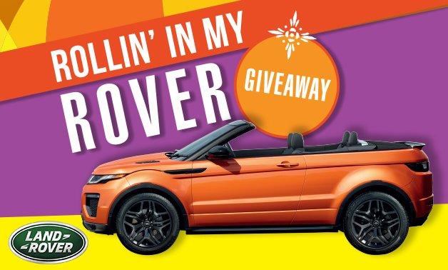 Win a range rover