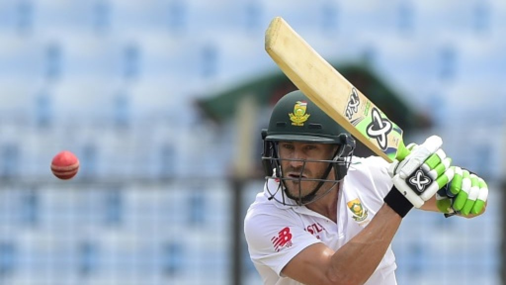 Du Plessis wants S. Africa to pass character test at Trent Bridge