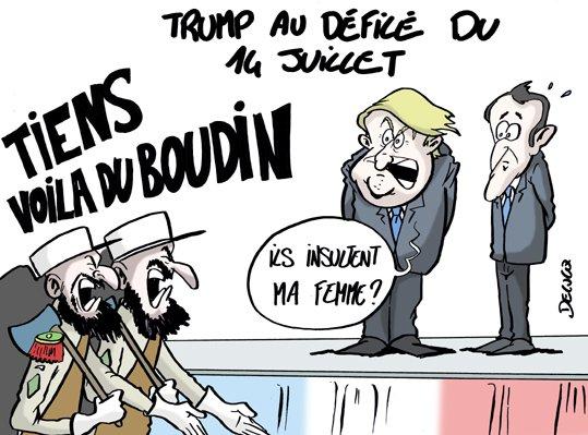 #défilé