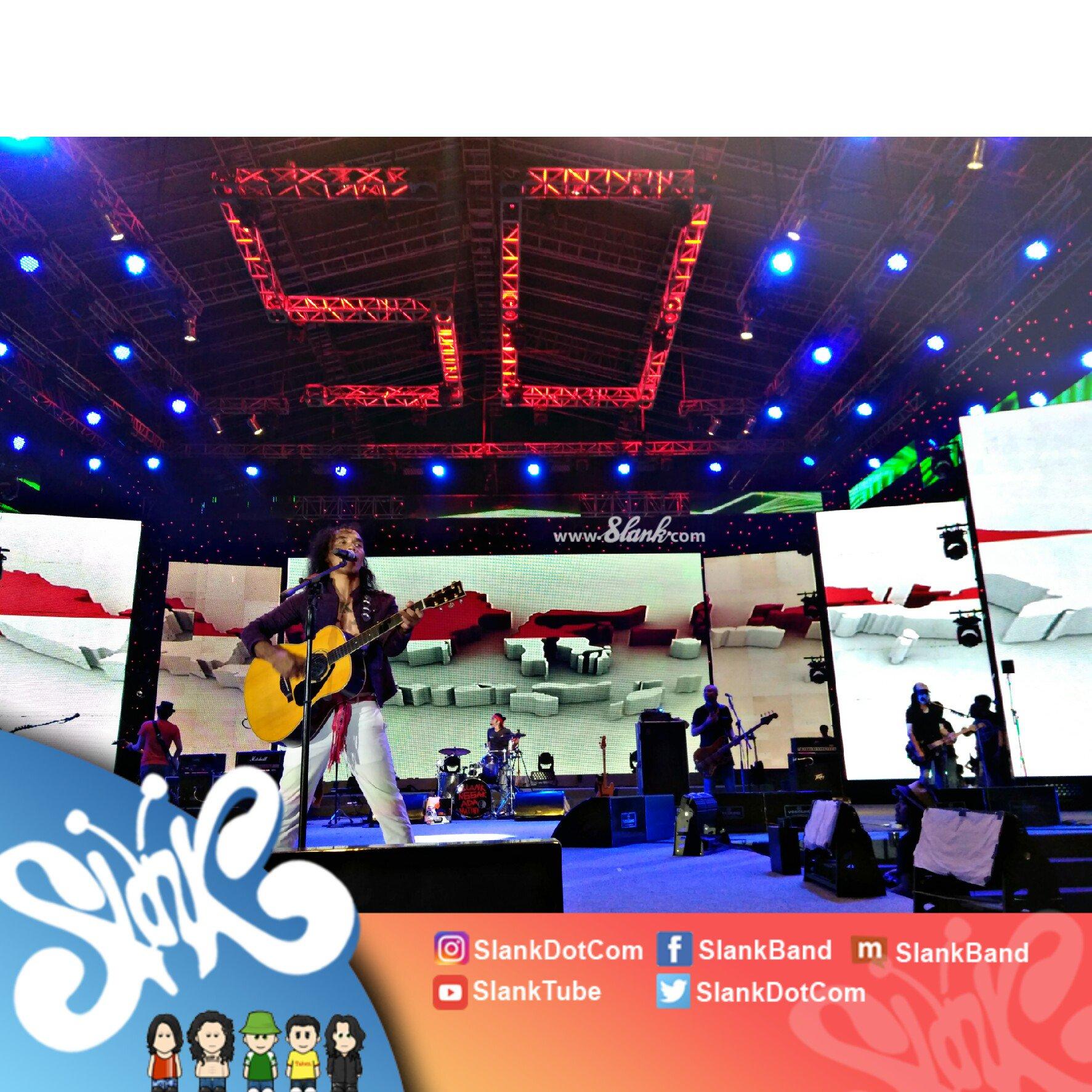 Terima kasih Jakarta! Semua damai, semua tenang, semua senang ikutan #ngeSlankRameRame bareng #SlankBerlima! https://t.co/bLKv63qwNC