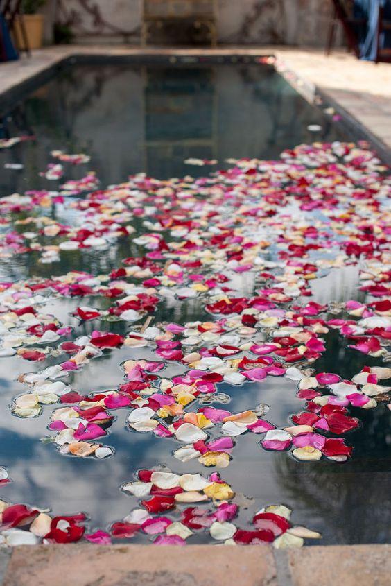 꽃이 떠있는 물,욕조 #물 #욕조 #꽃 #자료 #아트인지 #Water #Bath #Tub #Flower #Reference #ArtInG