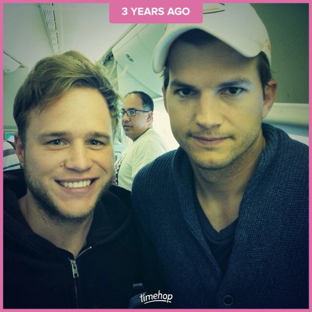 That time I met Ashton Kutcher and he was really happy to see me ���� https://t.co/RhOGanLNG0
