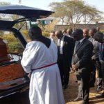 Former Prime minister leaves powerful message at Nkaissery's burial