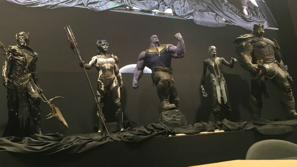 #Thanos isn't coming to an #InfinityWar alone; check out his backup! https://t.co/31LWdObUr8 #D23 https://t.co/FstXQPJdwh