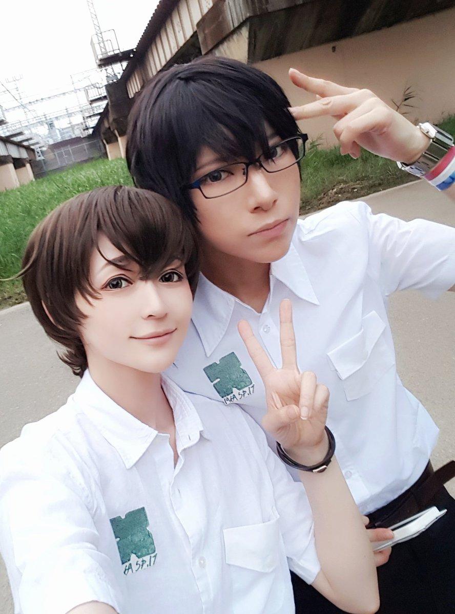 涼子さんとネハトさんと残響のテロル🙆涼子さんのナイン最高😭💕💕