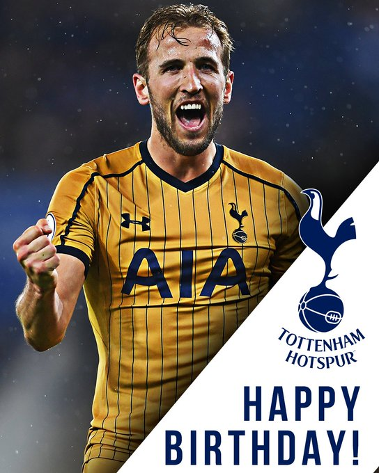 Happy 24th birthday to one of the best goalscorers, Harry Kane!