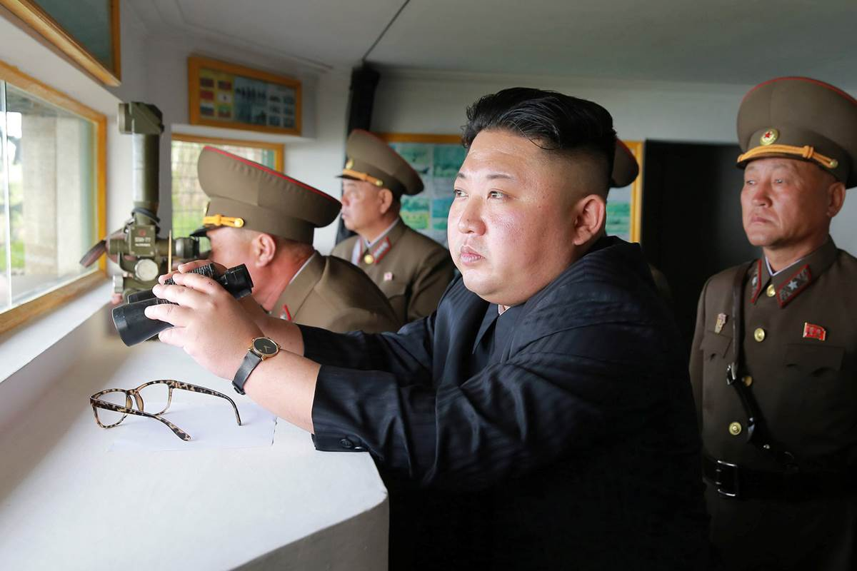 UPDATE North Korea launched an ICBM that flew about 1,000 km and landed in the Sea of Japan