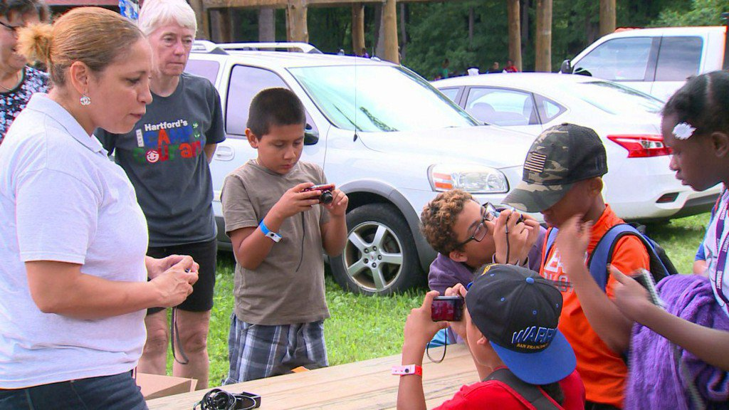 Camp Courant counselor helps kids see the bigpicture