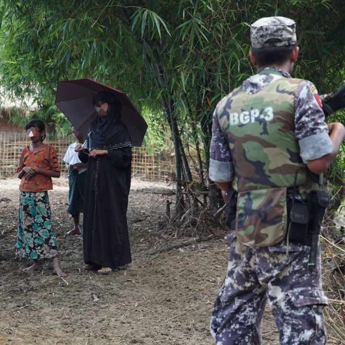 Myanmar's Rohingya Muslims share stories of gang rape and killings by police and soldiers in Rakhine State
