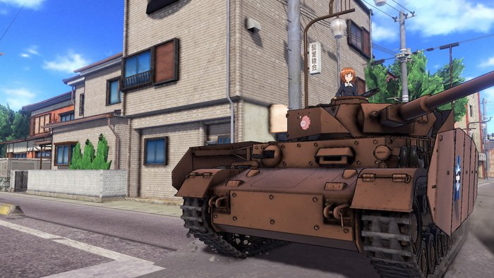 『ガールズ&パンツァー ドリームタンクマッチ』PS4で今冬発売決定!本作品らしい臨場感・爽快感のある戦車の動きをお楽しみ