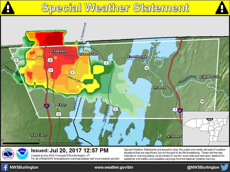 test Twitter Media - [1:11pm] Gusty winds and small hail possible with the storm just north of Chazy, NY #nywx #vtwx https://t.co/L1IkhIkNLu