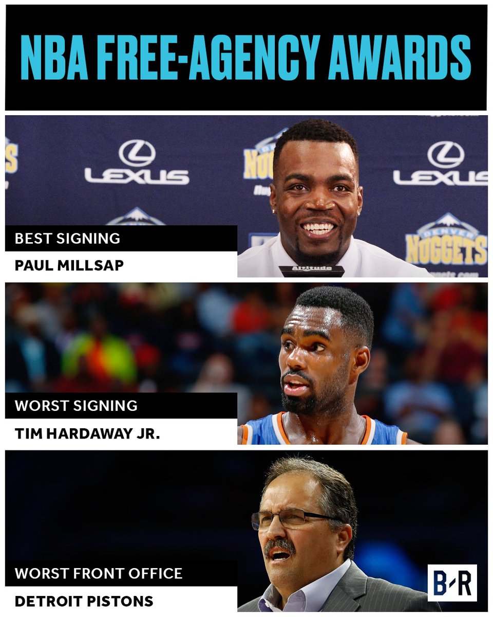 2017 NBA Free-Agency Awards: Which Teams and Players Won the Offseason?