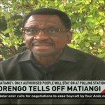 Siaya Senator James Orengo says Nasa will protect votes, rubbishes Matiang'i order