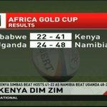 Kenya Simbas beat hosts 41-22 as Namibia beat Uganda 48-24