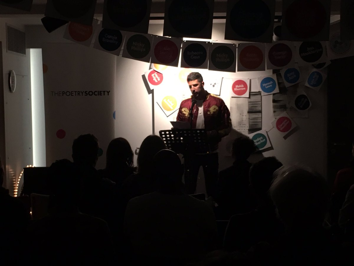 test Twitter Media - RT @kostyanaut: Terrific, hard-hitting poetry by @Anthony1983 at the @PoetrySociety #PoemAThon tonight. https://t.co/NeNZL0wenD