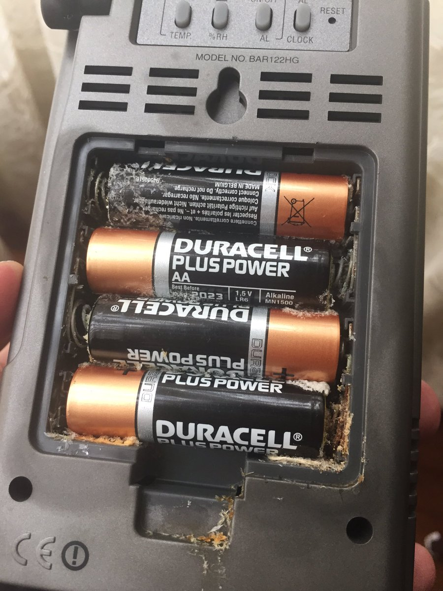 Amazing that 4 @Duracell batteries with