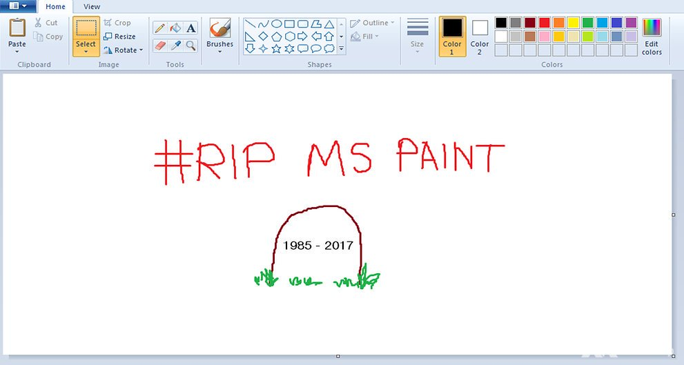 Microsoft Paint could be dropped from future Windows releases