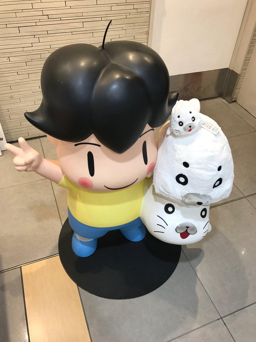 「少年アシベGO!GO!ゴマちゃんショップ」IN東京駅ワゴンにアシベとゴマちゃんが登場✨ぬいぐるみを持ってアシベと写真も