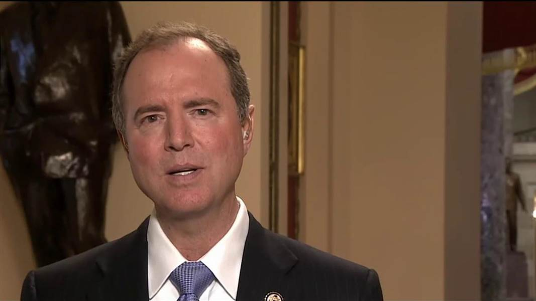 Schiff It Is Constitutional to Indict a Sitting President