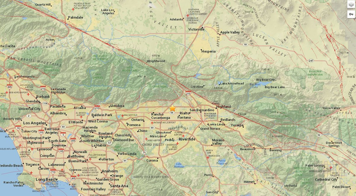 #EARTHQUAKE A preliminary-magnitude 2.7 earthquake has struck the Fontana area, @USGS says. Did you feel it?