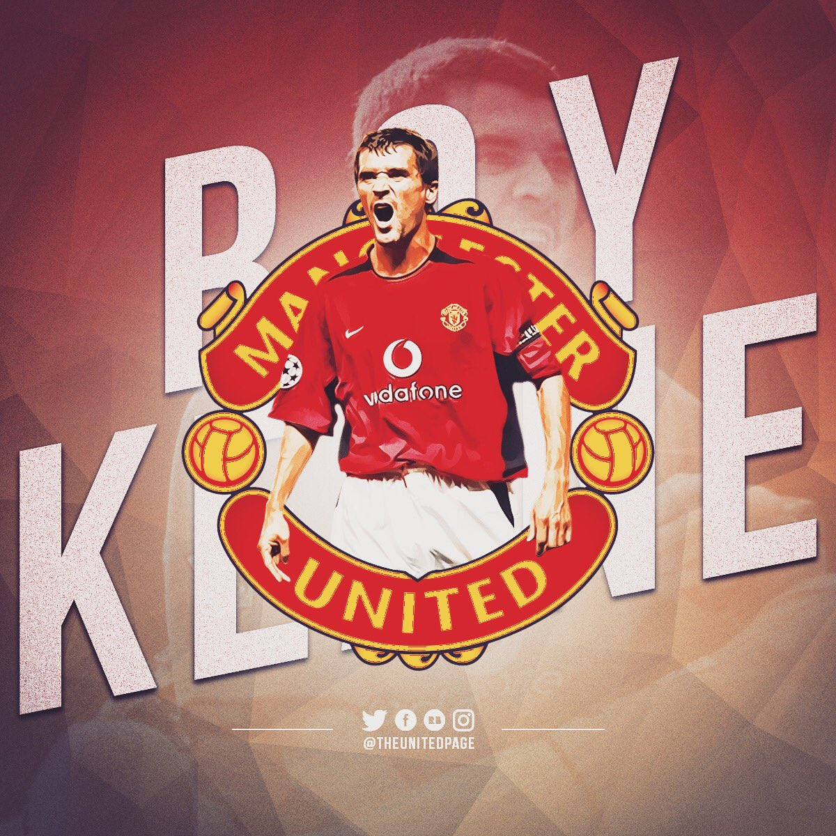 Captain. Leader. Legend. Happy birthday Roy Keane!