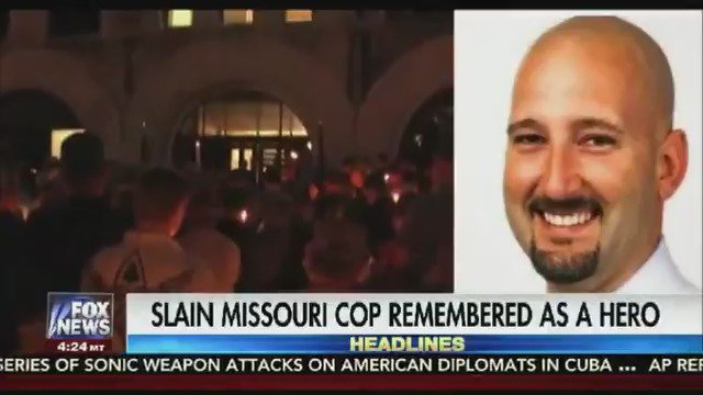 Community mourns death of Missouri police officer at vigil held in his honor https://t.co/cMnHRtLZbr