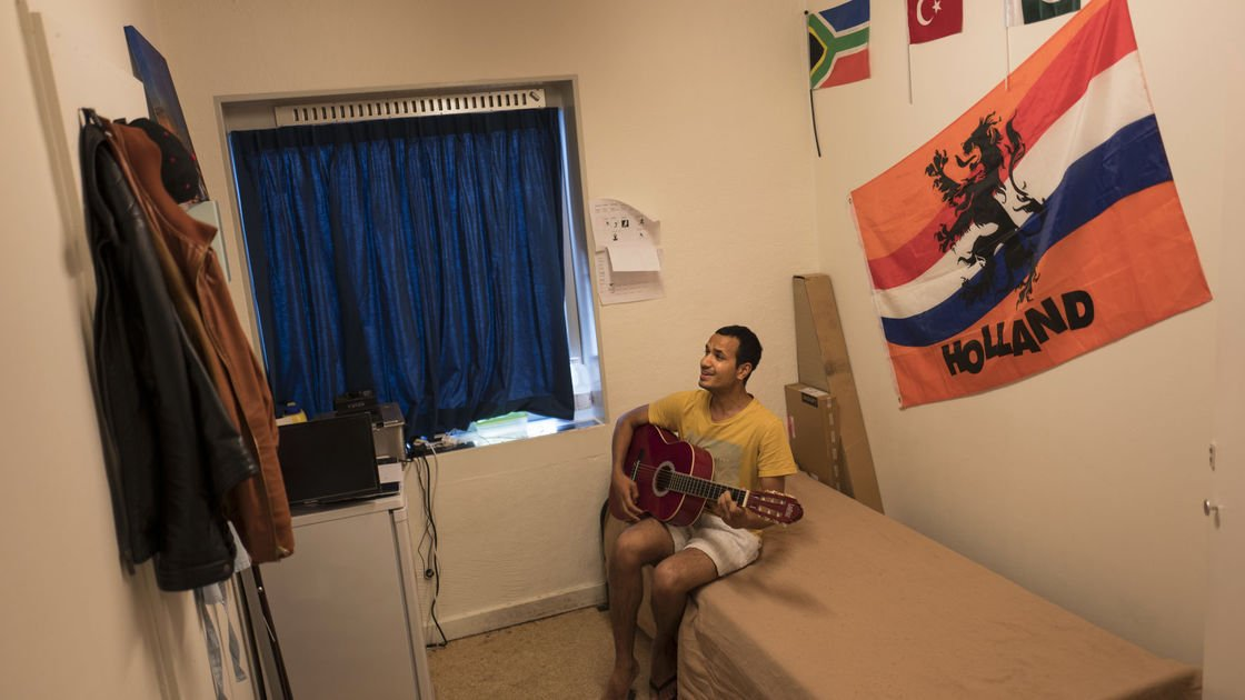 Photos: Old prison becomes new home for refugees in Netherlands