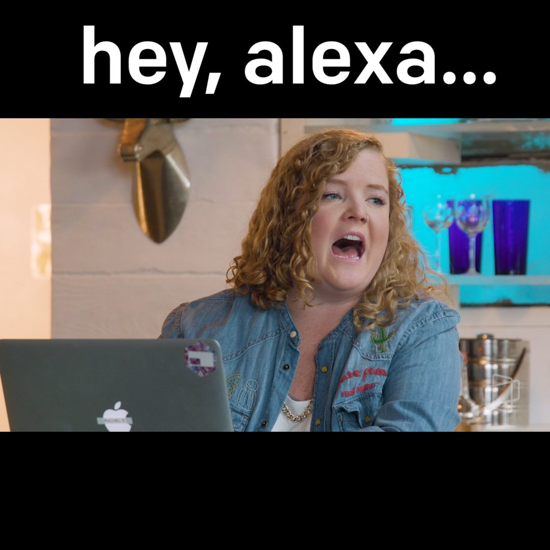 How many times have you yelled at Alexa today? https://t.co/9fD3dgdm74