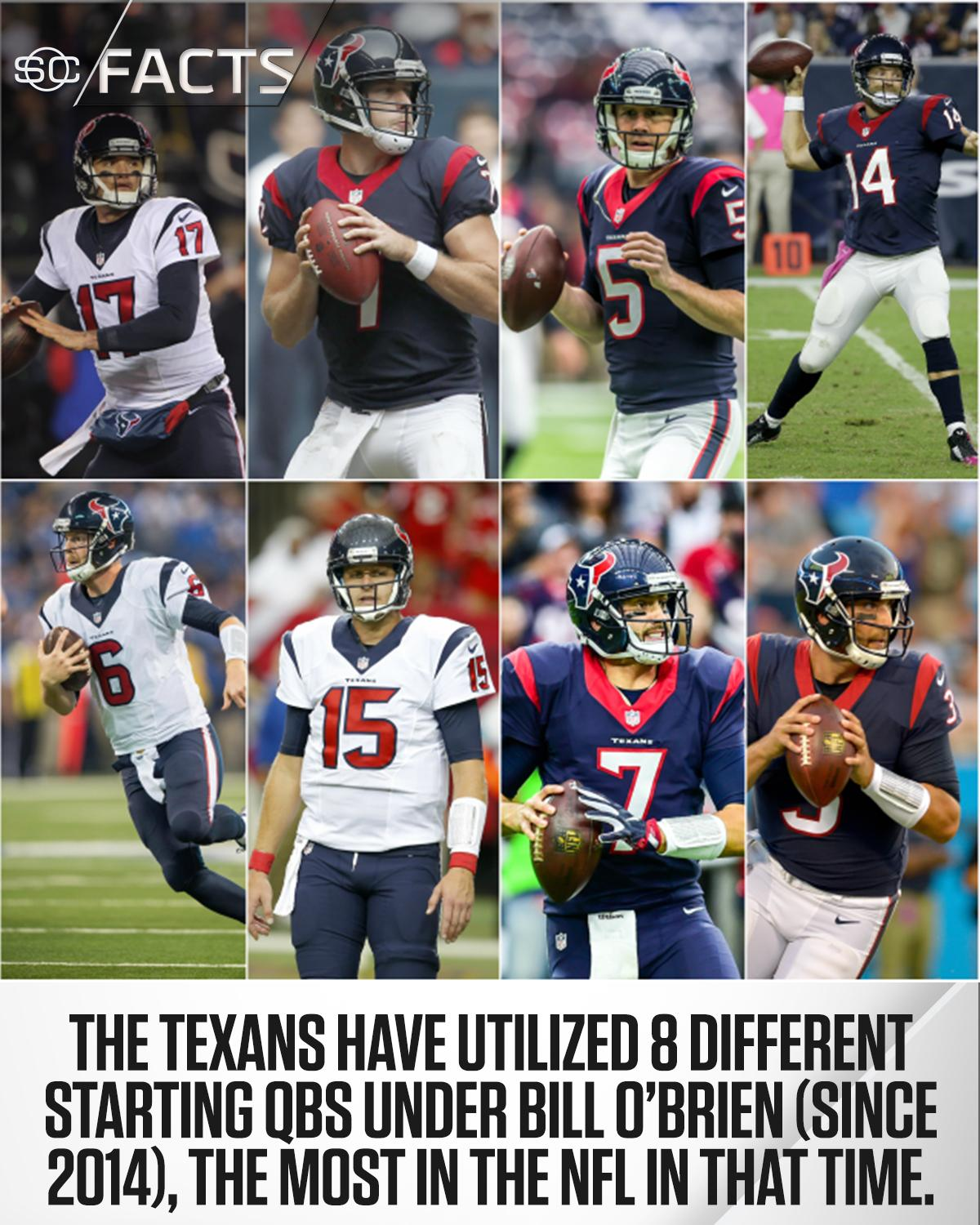 The Texans have been through a long journey of QBs. #SCFacts https://t.co/naSSbMHSt9