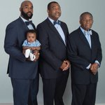 AWESOME: Son, Father, Grandfather, and Great-Grandfather in one beautiful photo.