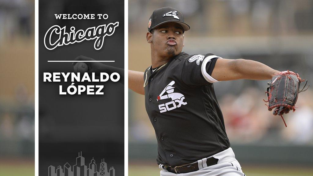 Welcome to Chicago, Reynaldo López! https://t.co/qBP1v5xmk2