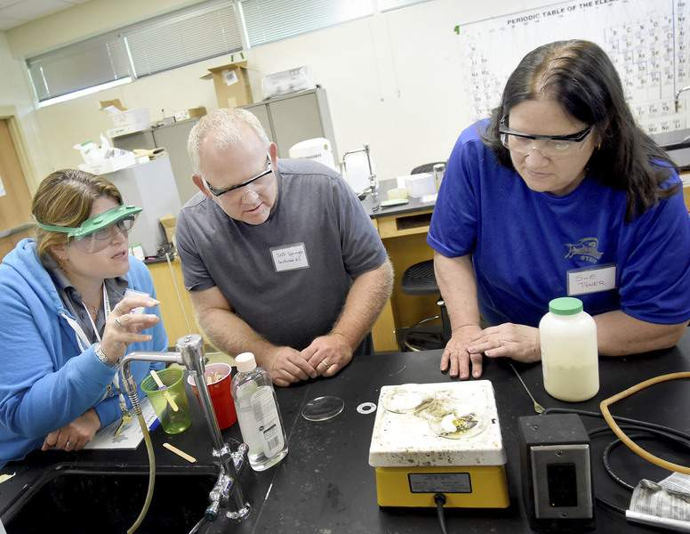 Hands-on chemistry for science teachers   Schools   Journal Gazette
