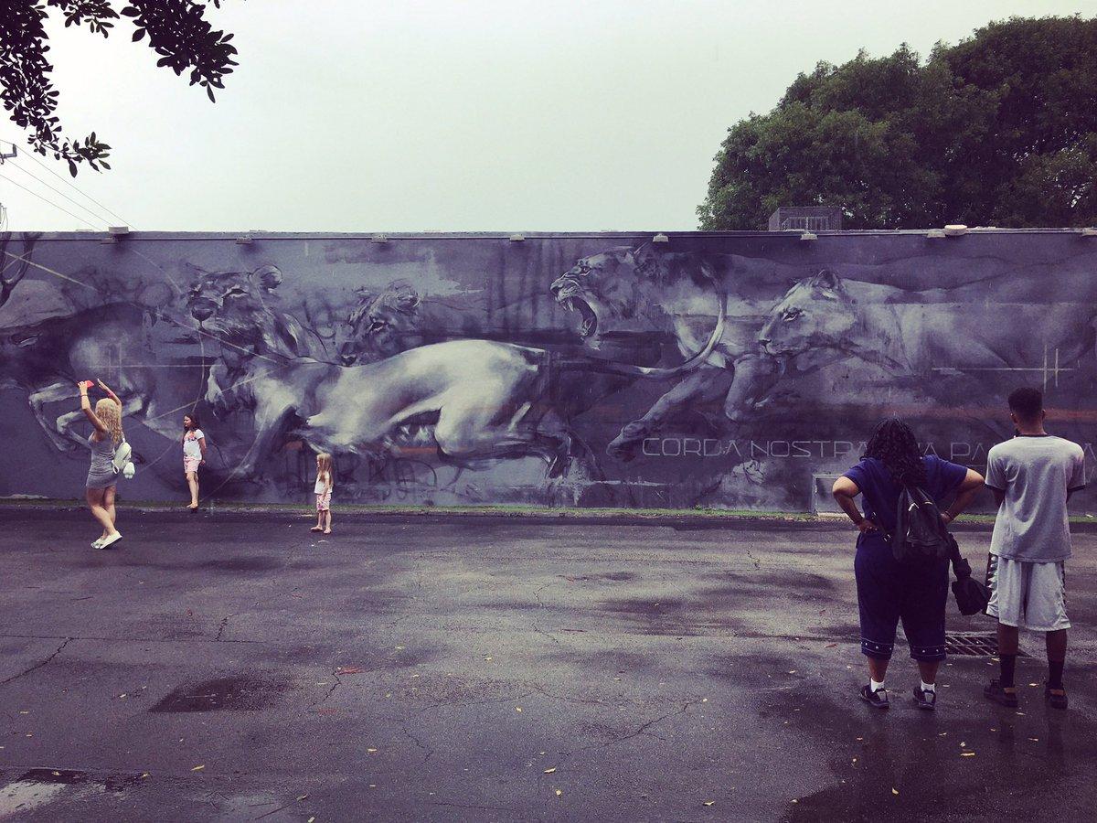 Corda nostra una palpitant #WynwoodWalls #Miami #murals #streetart
