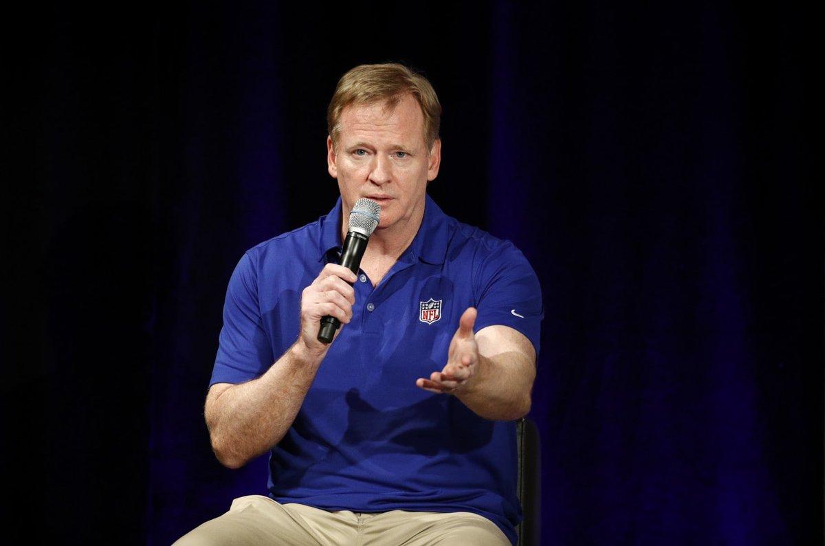 Roger Goodell: Baltimore-Washington joint Super Bowl bid is 'an interesting idea'