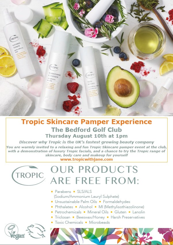 test Twitter Media - Join us for a @TropicSkincare Pamper Experience. Demonstration of facials & a chance to try the range of skincare & makeup for yourself! https://t.co/qzFLx13Qfy