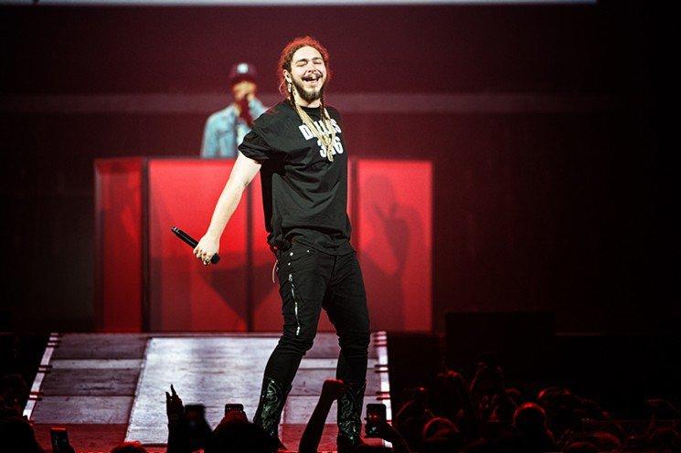 Post Malone Returns Home To Promote Delayed Album