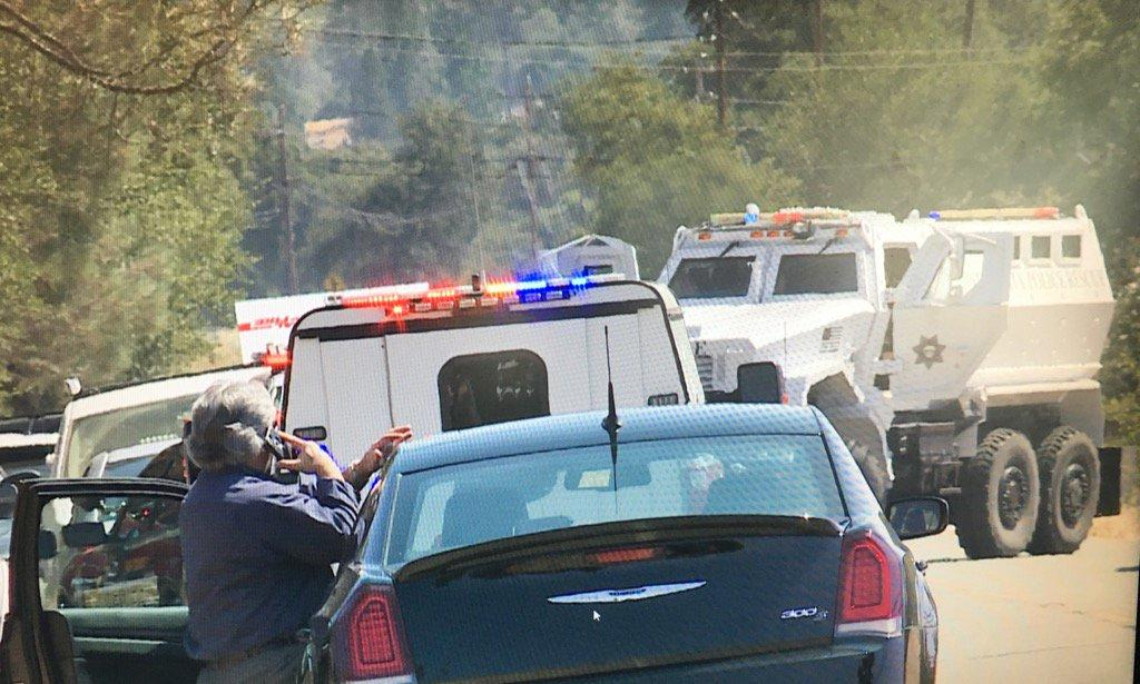 Two sheriff's deputies shot in Northern California, authorities say