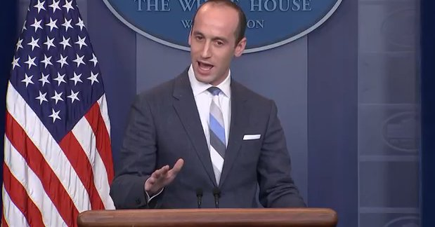 LIVE: White House Adviser Stephen Miller speaks on immigration at White House press briefing