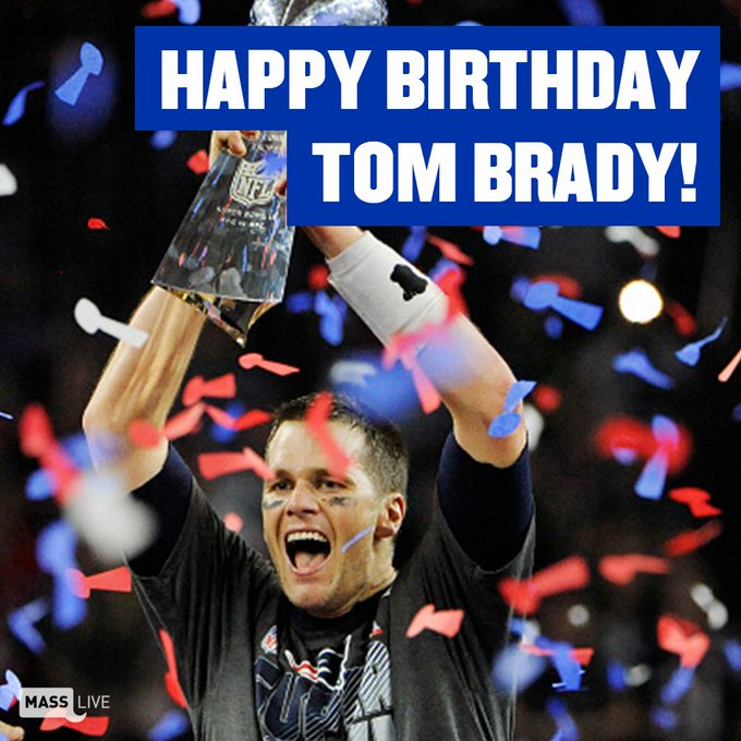 Happy 40th birthday, Tom Brady!